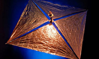 Gossamer deorbit sail.   Source: University of Surrey