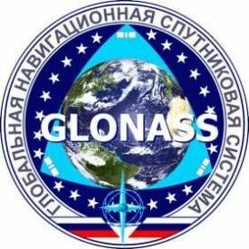 GLONASS logo.