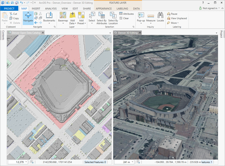 Screenshot from ArcGIS Pro.