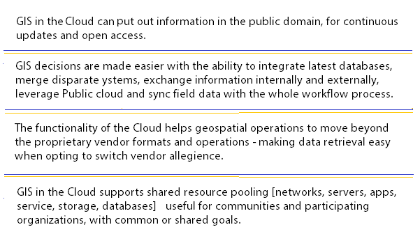 Key Benefits of GIS in the Cloud