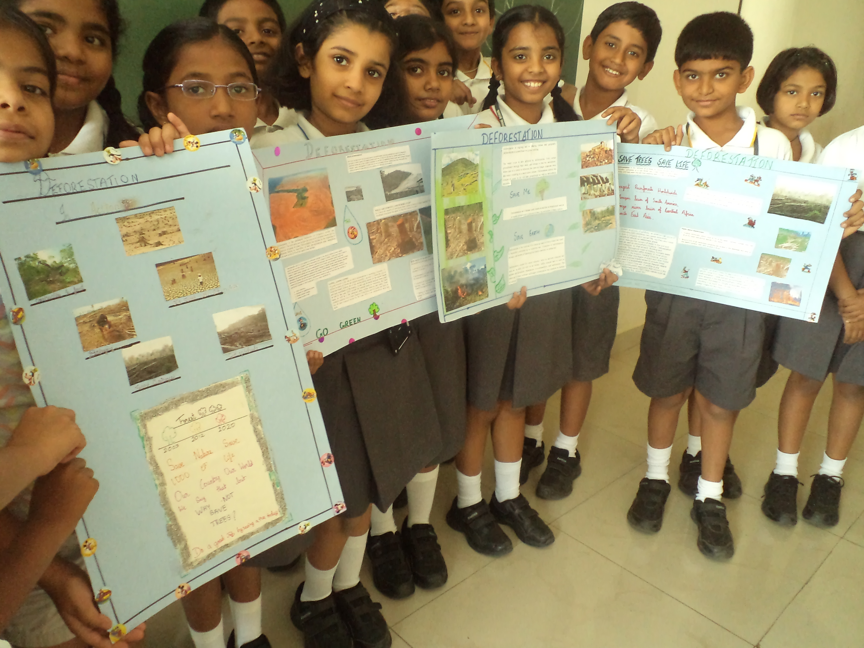 Project On Deforestation In Std Iv Subject Science