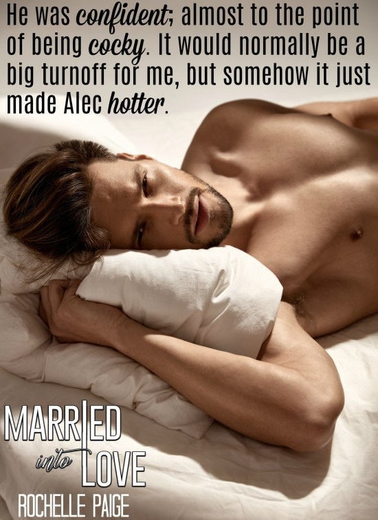 married into love teaser Alec confident