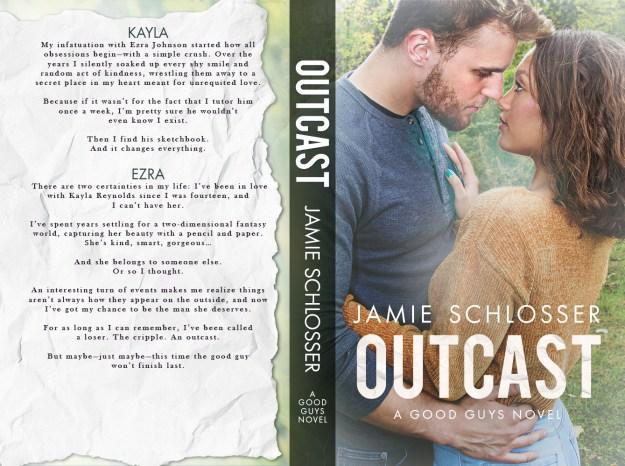 COVER REVEAL: OUTCAST (Good Guys #4) by Jamie Schlosser - Gi's Spot