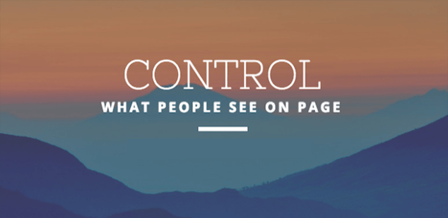 How do I control what visitors can post on my Page on Facebook