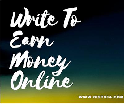 Write To Earn Money Online
