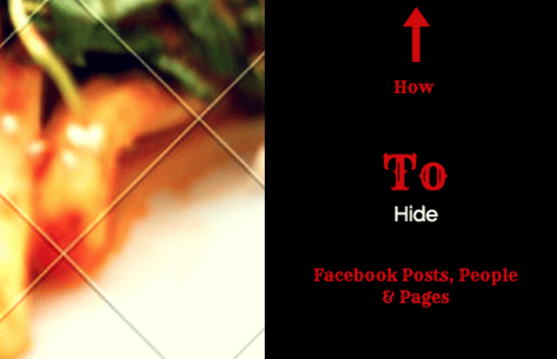 Hide People, Pages and Lists You Follow on Facebook