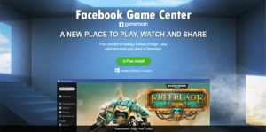 Facebook Game Center