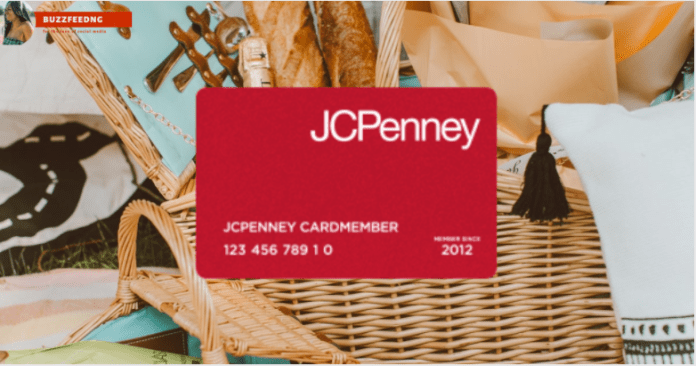 JCPenney Credit Card Login at www.jcpenny.com