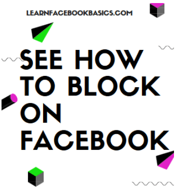Block Friends On Facebook