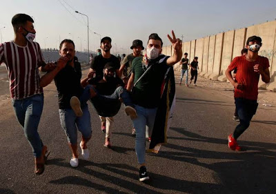 BREAKING: Iraq shuts down internet again as protests intensify