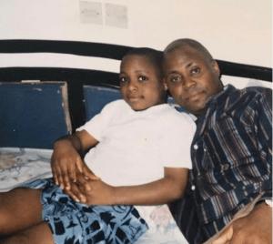 Davido And His Father, Deji Adeleke In Atlanta