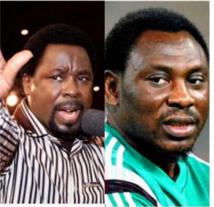 What TB Joshua did to me after I slept in his church for weeks – Amokachi