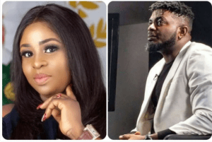 Kelly Hansome drags his baby mama on social media