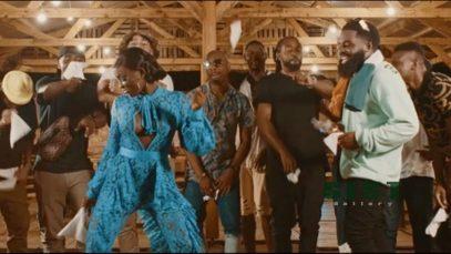 Afro B – Amina (Remix) ft. Wande Coal Mp4