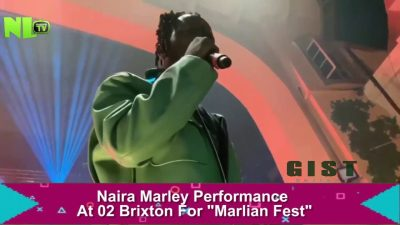 Naira Marley closes 02 Brixton London for Marlian Fest (Watch the video)