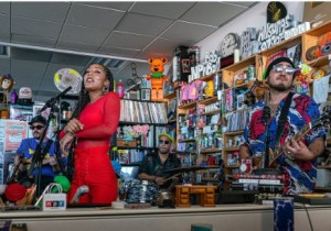 The Free Nationals - Tiny Desk Concert