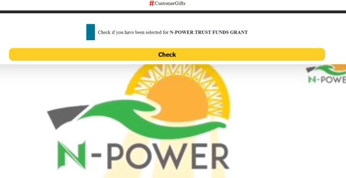 Npower Trust Fund Grants Registration Portal To Receive N30,000