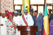 Pres. Buhari Receives Republic of Benin's Highest Honour – 'Grand Croix Du Benin'