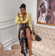 Instagram Slay Queen Teju Pretty Confronted By Businesswoman She Was Allegedly Owing N1.055m For Over A Year (Video)