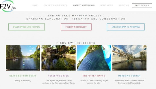 Spring Lake Mapping Project Enabling Exploration, Research and Conservation