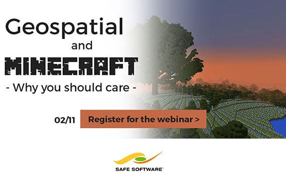 Geospatial and Minecraft – Why You Should Care