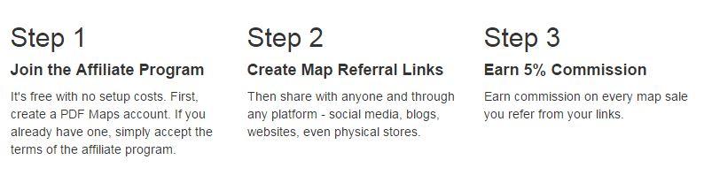 PDF Maps Affiliate Program