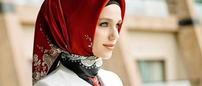 Model jilbab scarf ala Turki