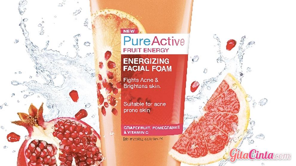 Garnier Pure Active Fruit Energi - (Sumber: baliintan.com)