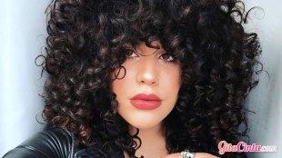 Model, rambut, ikal, pendek, keriting, potongan, wanita, bergelombang, wavy, curly, wajah, bulat, tebal, mengembang,