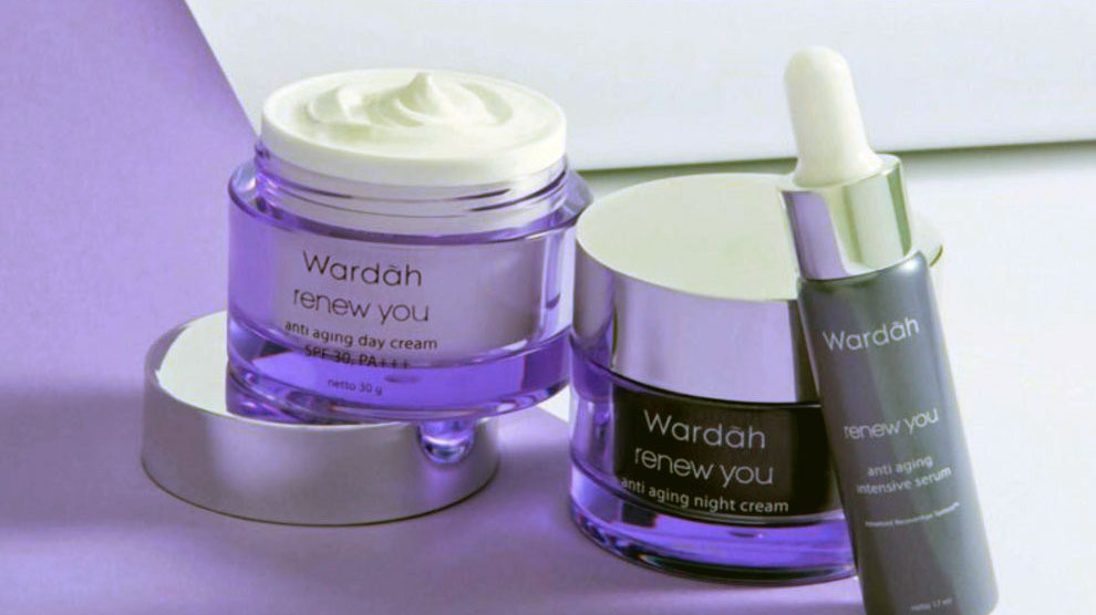 Wardah Renew You Anti Aging Night Cream (sumber: shopee.co.id)