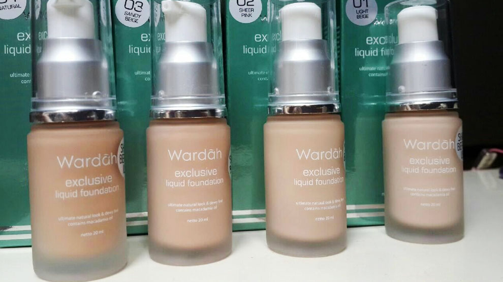Wardah Exclusive Liquid Foundation (sumber: beautynesia.id)