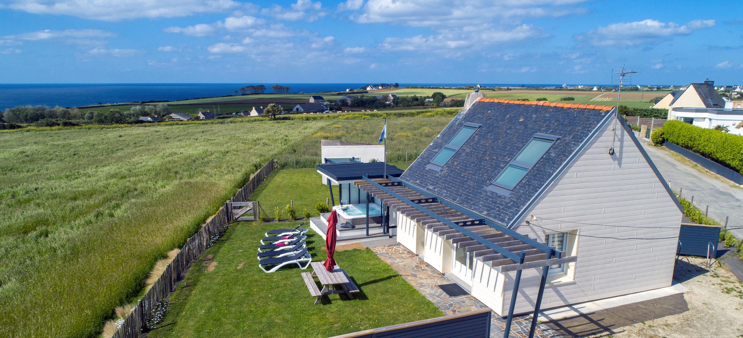 La maison des gardiens de l'océan avec spa à Plougonvelin