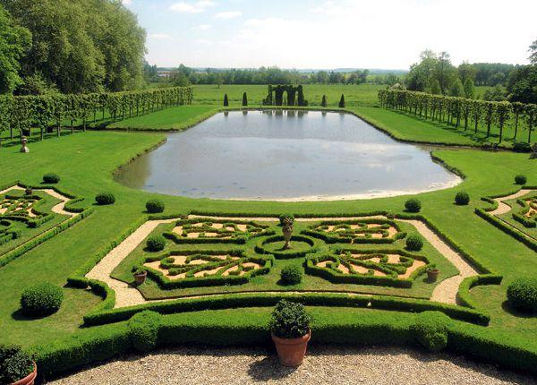 Jardins du Château de Vendeuvre