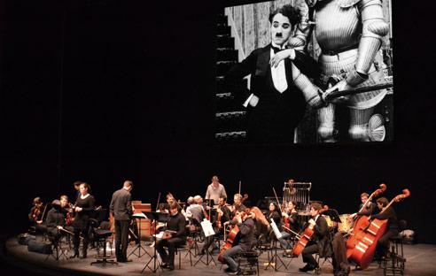 ciné-concert Charlie Chaplin à Cabourg