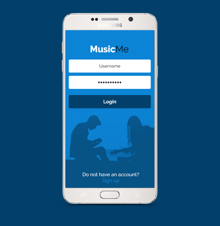 MusicMe app