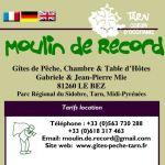 Dépliant Moulin de Record