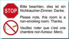 non fumeur