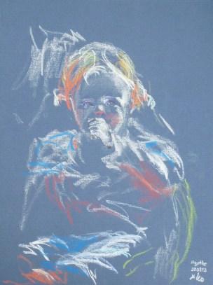Peinture de Leo