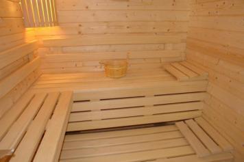 Intérieur du sauna
