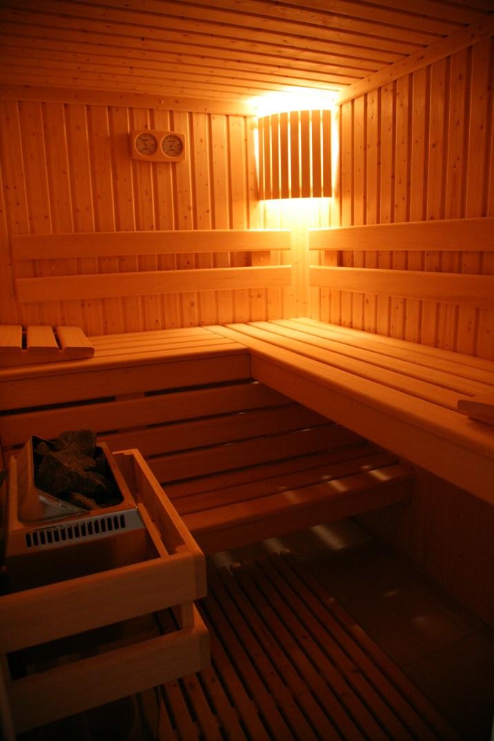 Le sauna du gîte