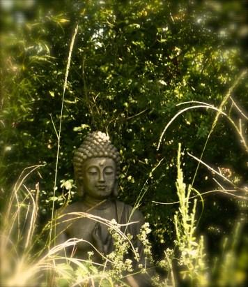Le coin zen avec le Bouddha