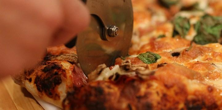 Pizza au levain