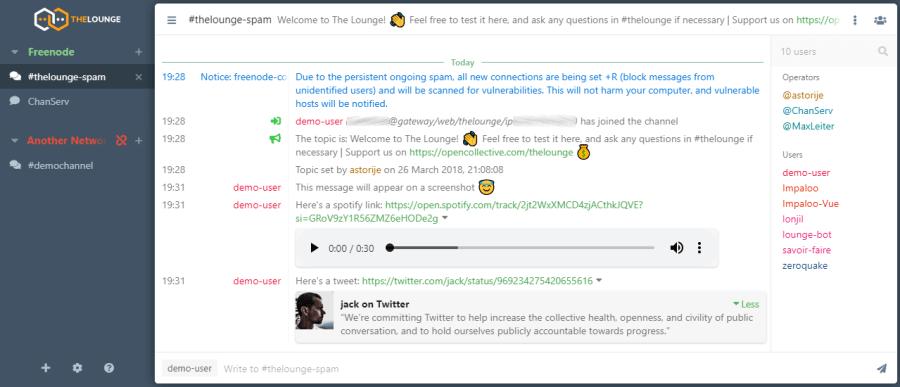 The Lounge 3.0 screenshot