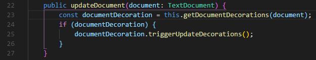 VSCodeの拡張機能BracketPairColorzier