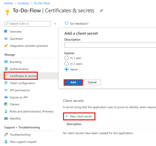 Azure Active Directory App Registration