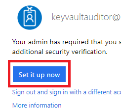 On the Portal page, the Set it up now button is selected.