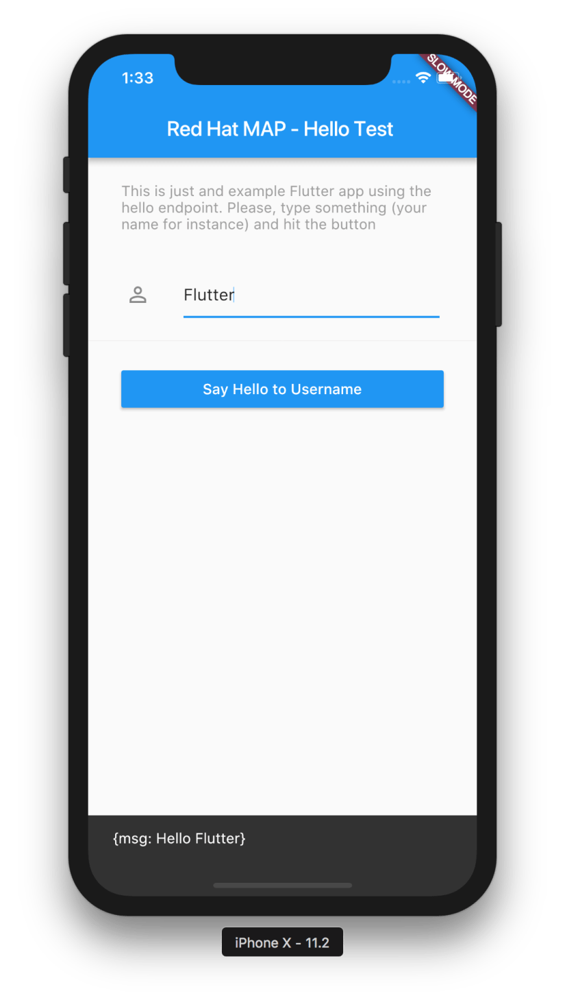 Integrating Flutter with Red Hat Mobile - Open Sourcerers