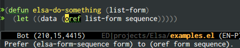 {focus_keyword} emacs-elsa/Elsa custom ruleset 1