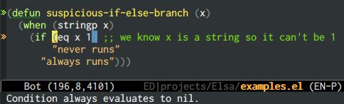 {focus_keyword} emacs-elsa/Elsa dead code 2
