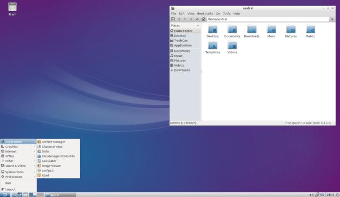 Лучшие легковесные дистрибутивы Linux - Lubuntu